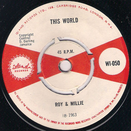 This World / Never Say Goodbye - Roy and Millie