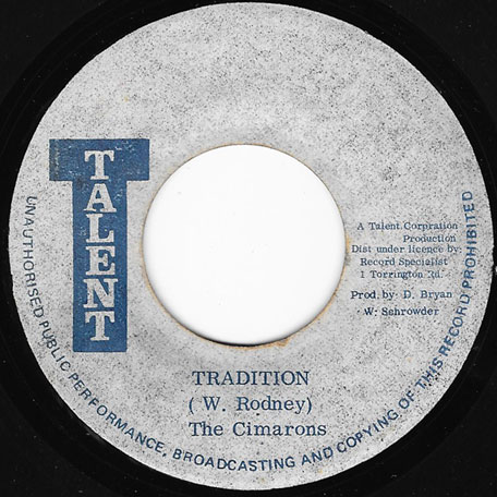 Tradition / Ver - The Cimarons