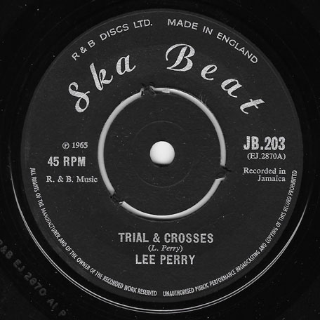 Trial And Crosses / John Tom - Lee Perry