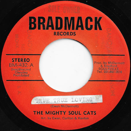 True True Loving / New Dimension Sound - The Mighty Soul Cats / The Quarter Notes