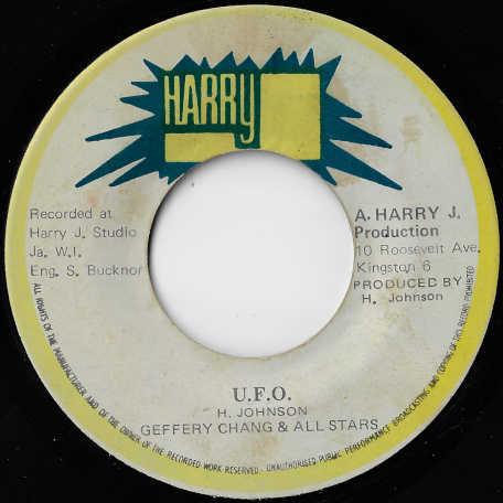 UFO / Ver - Geoffrey Chung And All Stars