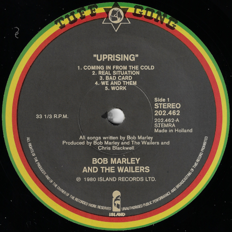 Uprising - Bob Marley And The Wailers