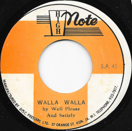 Walla Walla / Ver - Well Pleased And Satisfied