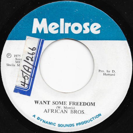 Want Some Freedom / Ver - The African Brothers