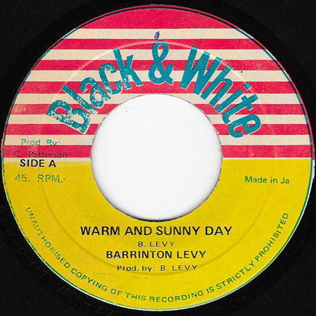 Warm And Sunny Day / Sunny Style - Barrington Levy / Scientist
