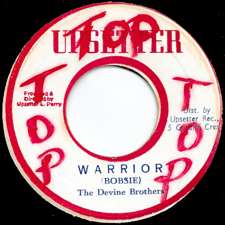 Warrior / War Dub - The Devine Brothers / The Upsetters
