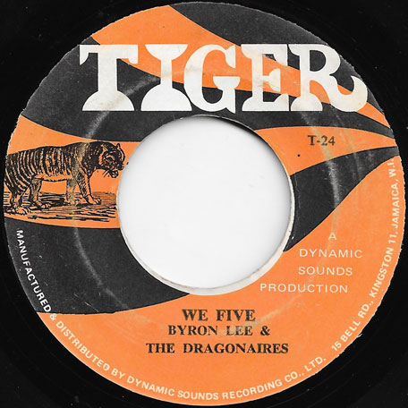 We Five / Cash Box - Byron Lee And The Dragonairs