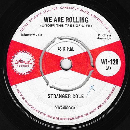 We Are Rolling (Under The Tree Of Life) / Millie Maw - Stranger Cole with Lloyd Brevitt And Baba Brooks