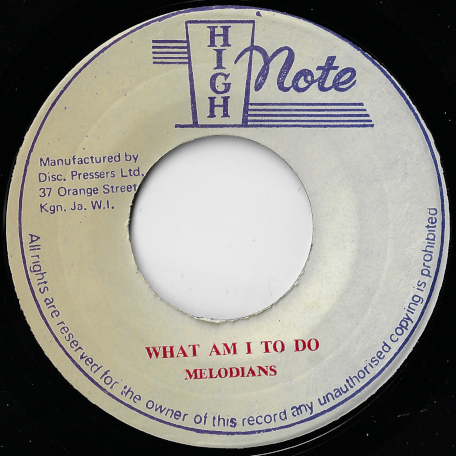 What Am I To Do / Ver - The Melodians / The Revolutionaries