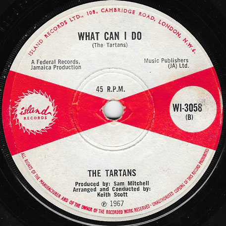Dance All Night / What Can I Do - The Tartans