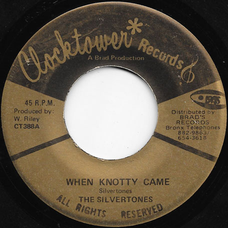 When Knotty Came / Knotty Ver - The Silvertones / Rileys All Stars