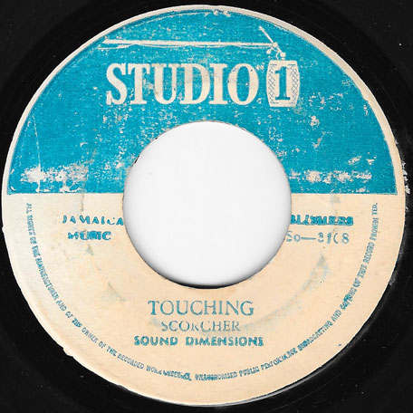 Why Cant I Touch You / Touching - John Holt And The Sound Dimension