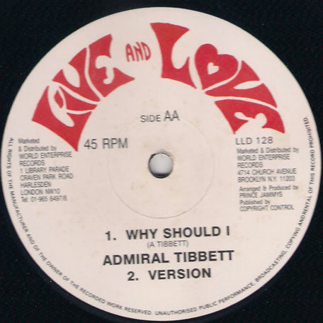Break You Down / Why Should I - Home T 4 and Cocoa Tea / Admiral Tibet