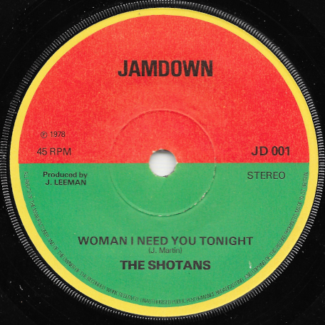 Im Your Man / Woman I Need You Tonight - The Shotans