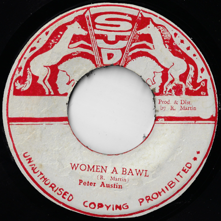 Woman A Ball / Woman A Dub - Peter Austin