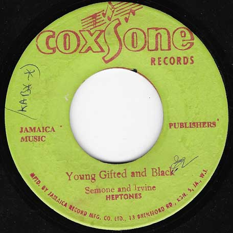 Young Gifted And Black / Joy Land - The Heptones / The Sound Dimension