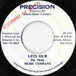 Oh Darling / Lets Dub - Leroy Smart / Music Company