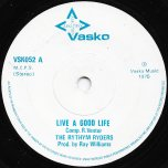 Live A Good Life / Abortion Racket - The Rhythm Ryders / Mighty Unlucky