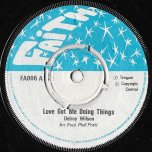 Love Got Me Doing Things / Ver - Delroy Wilson
