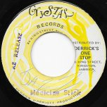 Medicine Stick / Short Cut - Denzil Laing and The Crystalites ‎/ The Crystalites