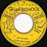 Mr Palmer / One Eyed jack - Lloyd And Carey / Tony All Stars