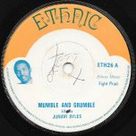 Mumble And Grumble / King Size Mumble Ver - Junior Byles