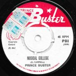 Big Five / Musical College - Prince Buster