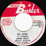 My Love / Love Ver - John Holt