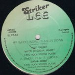 I Know Them Love It / My Whole World Is Falling Down - Sugar Minott / Dave Barker