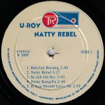 Natty Rebel - U Roy