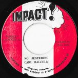 No Jestering / Part Two Dub - Carl Malcolm