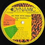 On Tour With Reggay - Sonny Bradshaw
