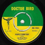 People Funny Boy / Blowing In The Wind - Lee Perry / Burt Walters