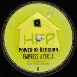 Power Of Decision / Power Of Dub - Empress Ayeola