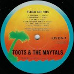 Reggae Got Soul - Toots And The Maytals
