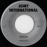 Rhodesia / Red Sea - Alton Ellis