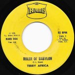 Ruler Of Babylon / Dreadful Dub - Terry Africa / Super 8 Corporation