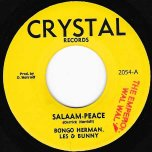 Salaam-Peace / Scraper (Ver) - Bongo Herman Les And Bunny