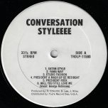 Conversation Stylee - Various..Slim Smith..Shorty The President..Joe White..Success All Stars