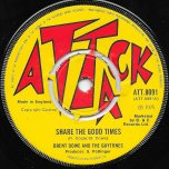 Share The Good Times / Ver - Brent Dowe And The Gaytones