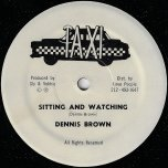 Sitting And Waiting / Centre Forward - Dennis Brown
