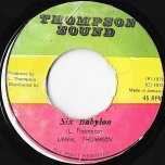 Six Babylon / Cool Down You Temper - Linval Thompson