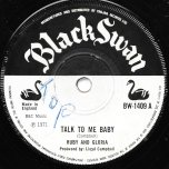 Talk To Me Baby / Ver - Ruby And Gloria / Lloyds All Stars