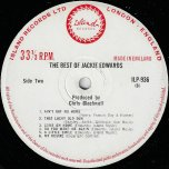 The Best Of - Jackie Edwards
