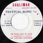 The King Man Is Back / Ver - The Hofner Brothers / Shalimar All Stars