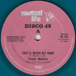 Theyll Never Get Away / Diplomatical Dub - Trevor Walters / Santic All Stars
