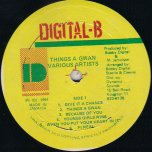 Things A Gwaan - Various..Admiral Tibet..Shabba Ranks..Thriller U