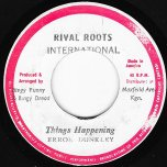 Things Happening / Light Post Rock - Errol Dunkley